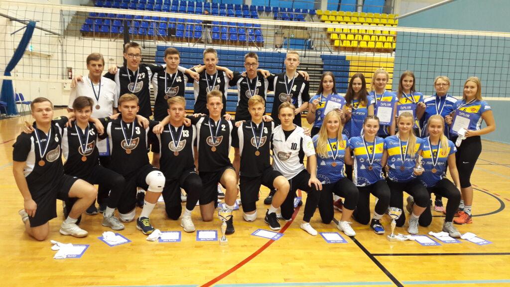 U20 neiud ja noormehed, EKV 3. koht